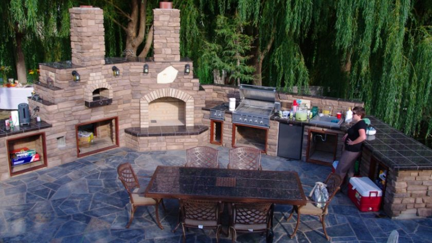 Planning an Outside Kitchen